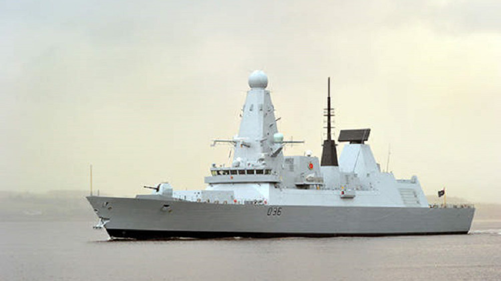 Russia fires 'warning shots' at Royal Navy Destroyer
