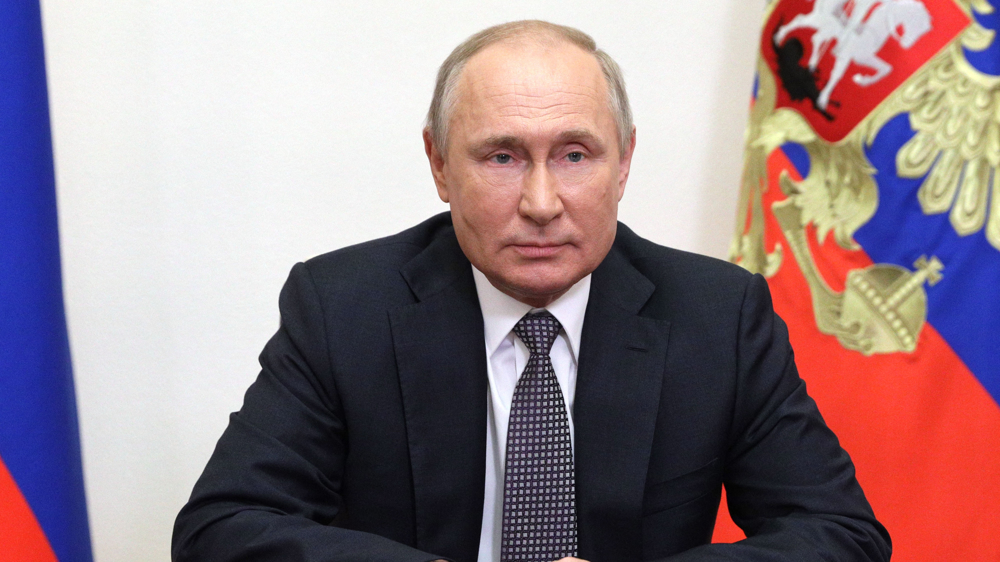 Putin blasts NATO's never-ending military build-ups near Russia