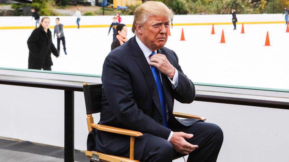 Trump sues New York City