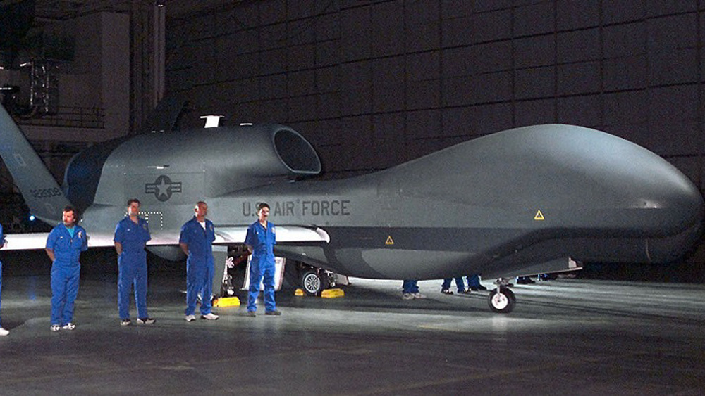 Advanced stealth drone downed by domestic missile defense system