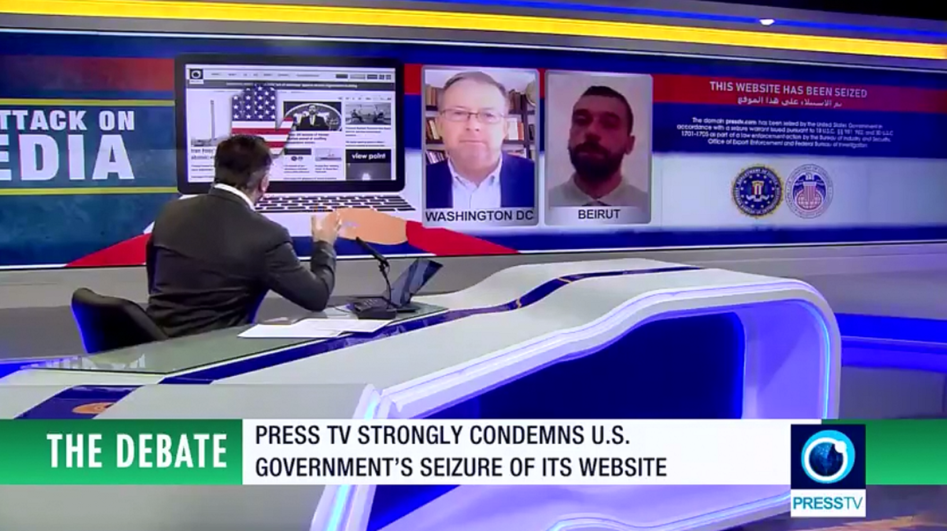 'Press TV, others targeted for their independence, alternative line'
