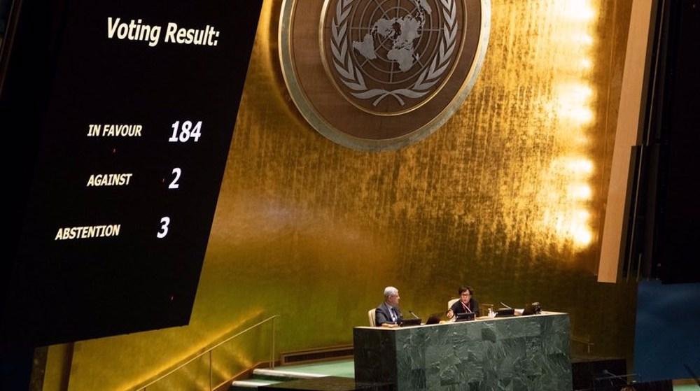 US again votes 'No' to UN resolution condemning embargo on Cuba