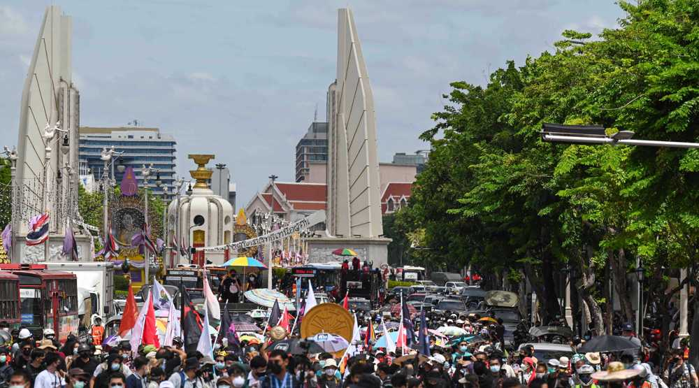 Thai protesters return to streets demanding constitutional changes