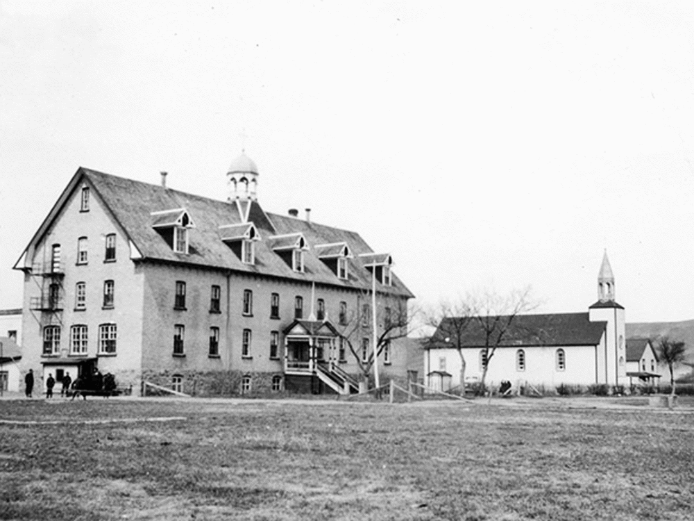 Hundreds of bodies found near another former residential school in Canada