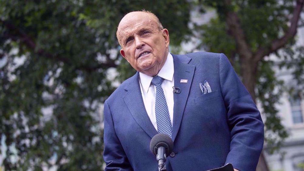 New York Supreme Court suspends Giuliani's law license