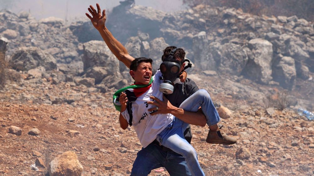 Israeli forces injure dozens of Palestinians in West Bank