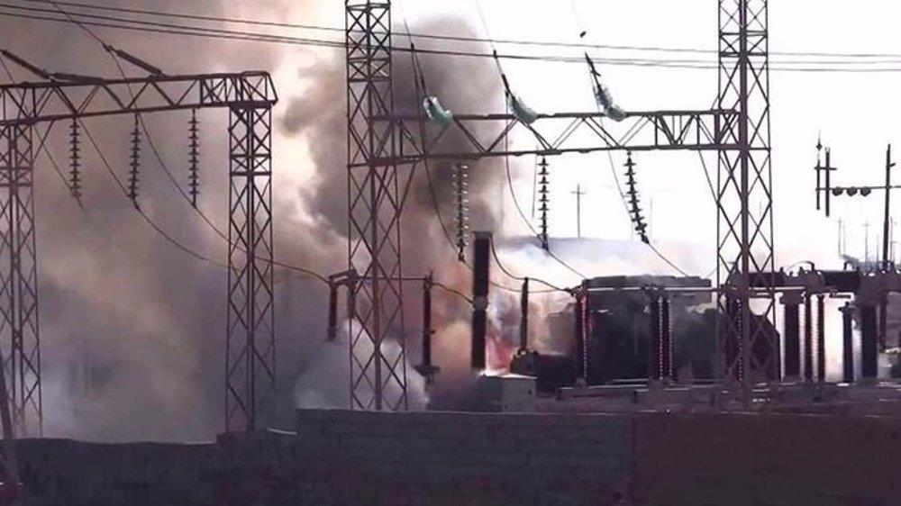 Daesh terrorists attack Iraqi power station