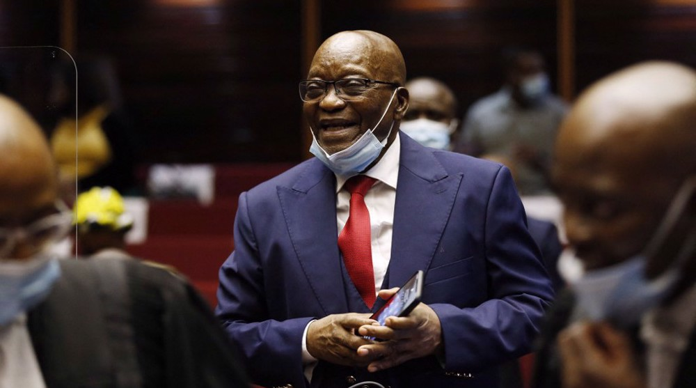 South Africa's Zuma sentenced to 15 months in prison for contempt of court