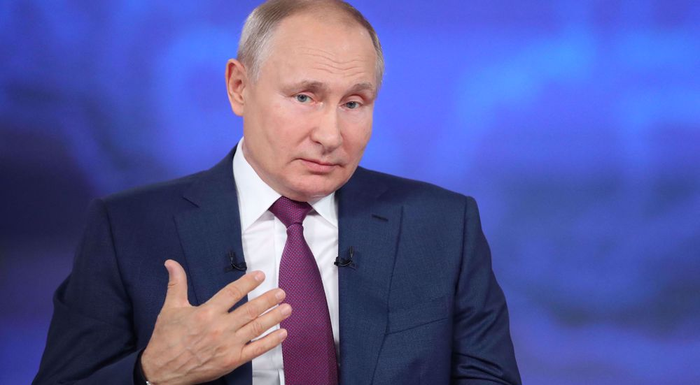 Putin says Ukraine run by West; no use in meeting with Zelensky