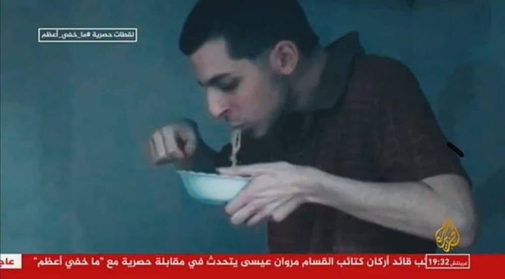 Hamas releases footage of ex-Israeli prisoner, voice of current inmate