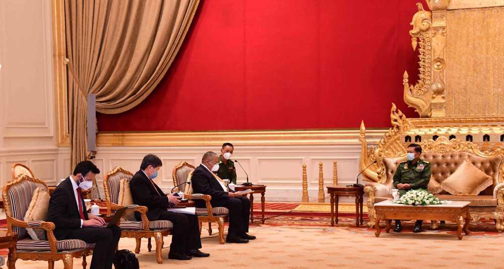 ASEAN calls on Myanmar junta to stop violence, free prisoners