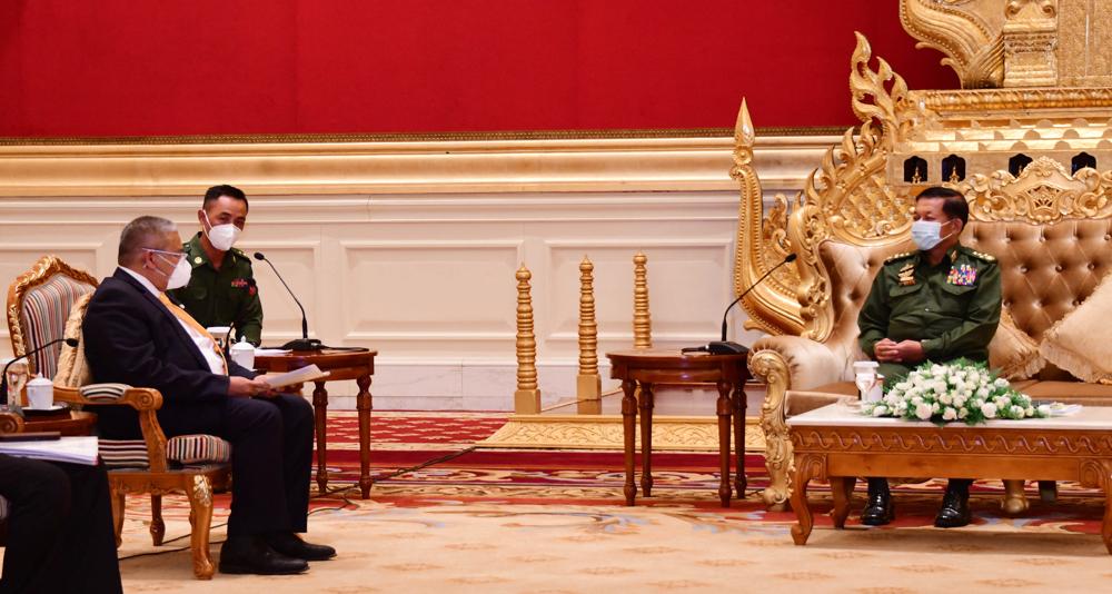 Junta claims democracy plans making progress in Myanmar