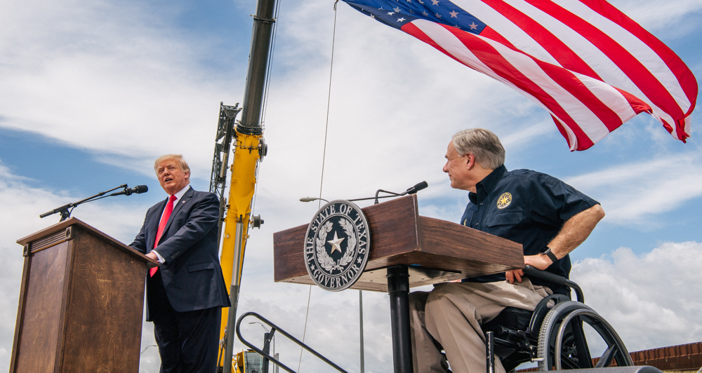 Trump back to US-Mexico border with attacks on Biden immigration policies