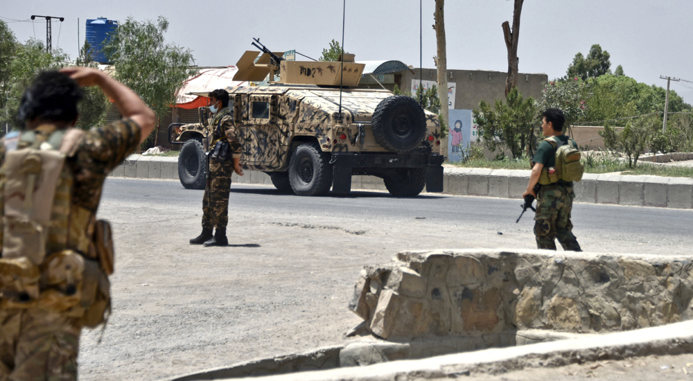 Afghan forces prepare to recapture key border crossing from Taliban: Officials