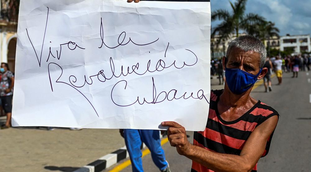 Diaz-Canel says US mercenaries provoking unrest in Cuba
