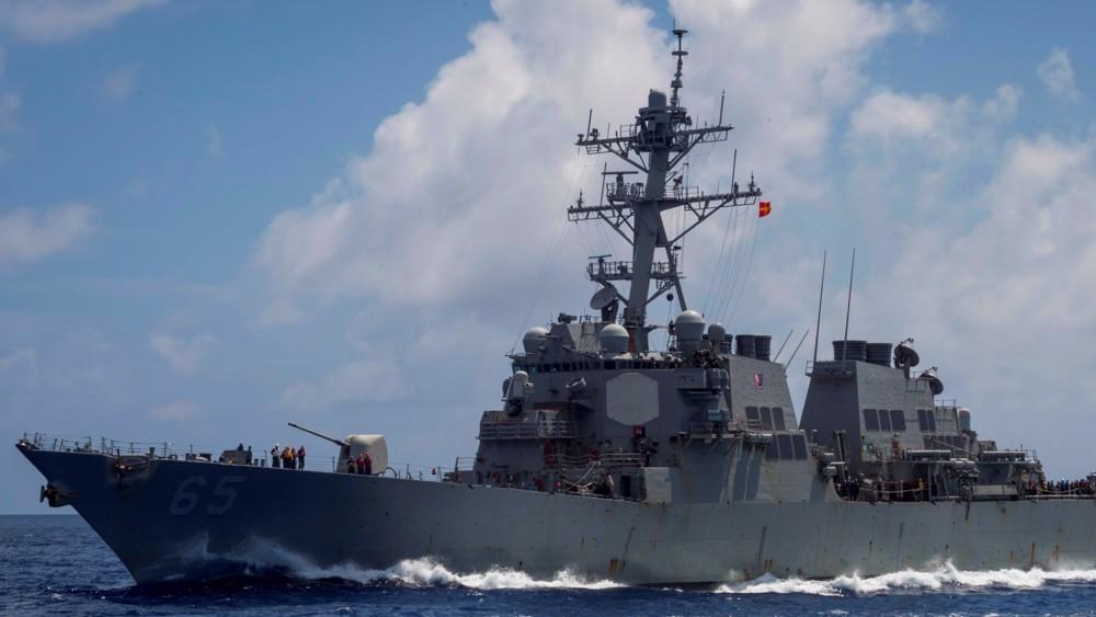 China 'drives away' US warship trespassing in South China Sea