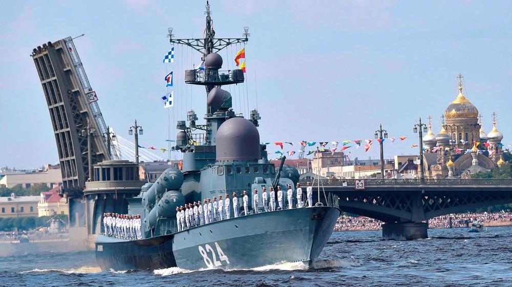 La marine iranienne à Saint-Pétersbourg