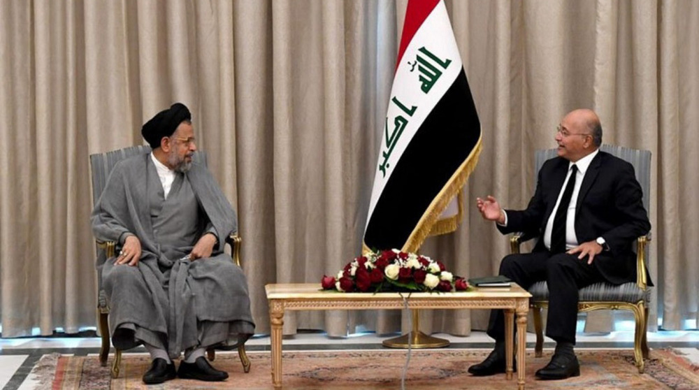 Iran intel. chief conveys Leader's support for Iraq security, stability