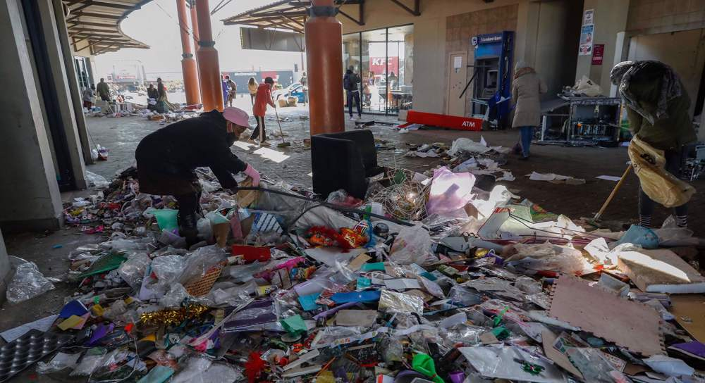More than 70 dead as looting, violence roil South Africa