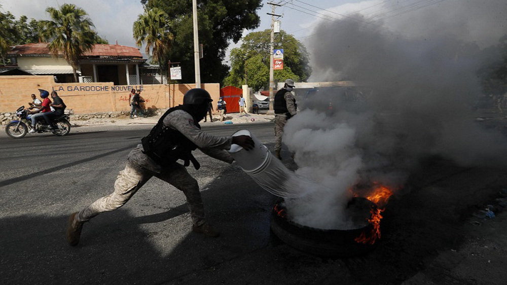 Haitians protest over insecurity as country grapples with president's killing
