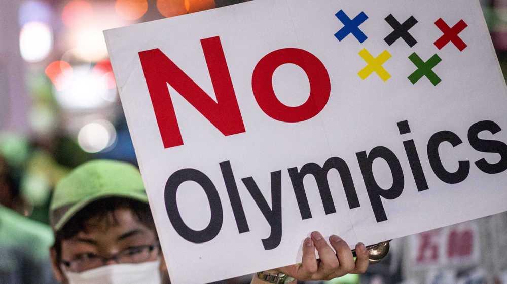 Japan: Anti-Olympics demonstrators rally against Bach, IOC