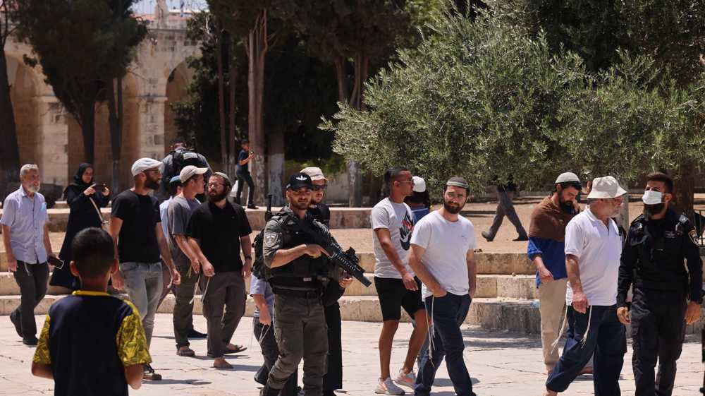 Palestine denounces incursion of al-Aqsa compound by Israeli settlers