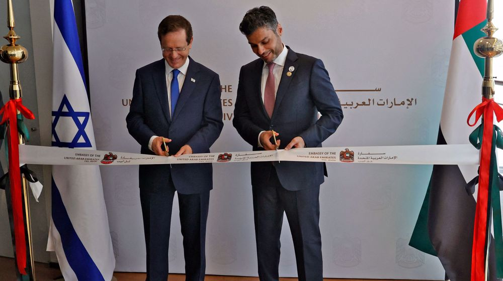 """UAE opens embassy in Israel after recent """"normalization"""" of ties"""