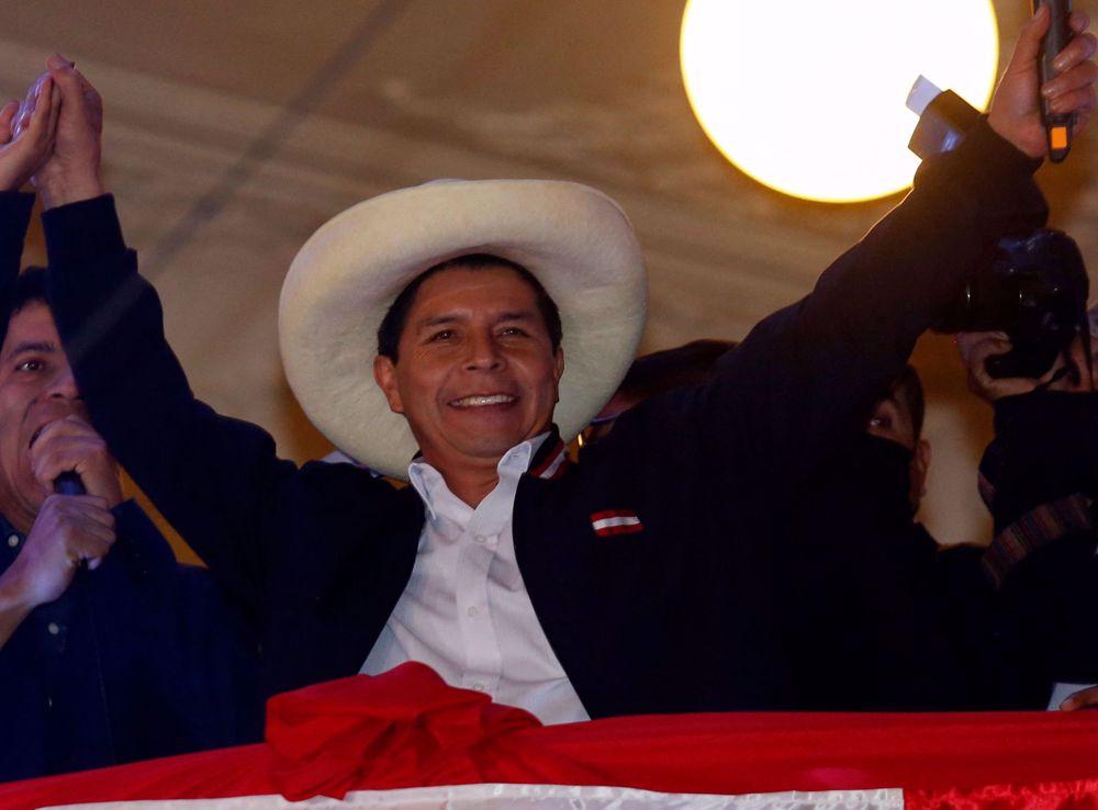 Leftist Castillo declared Peru's new president after lengthy election standoff