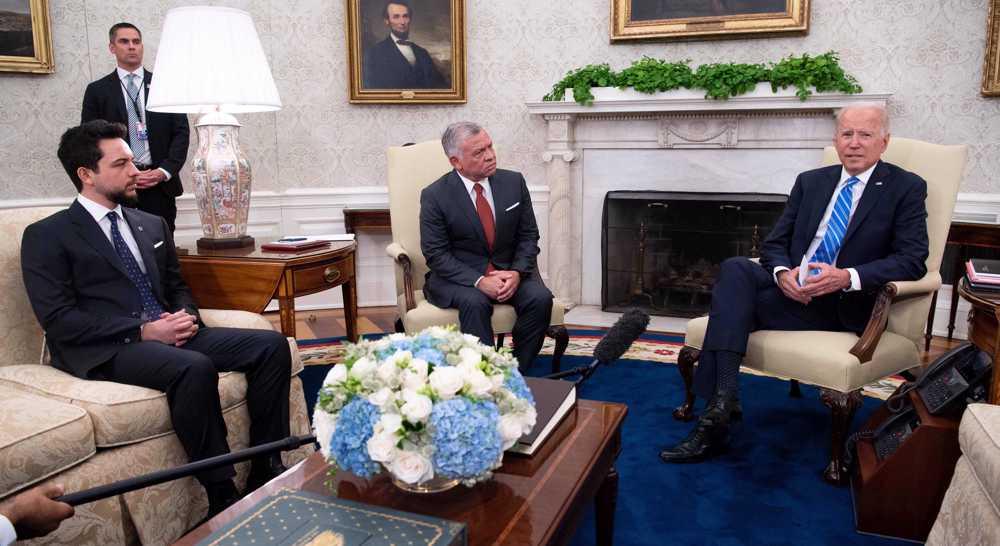 Jordan's King Abdullah visits US in bid to mend frosty Trump-era ties