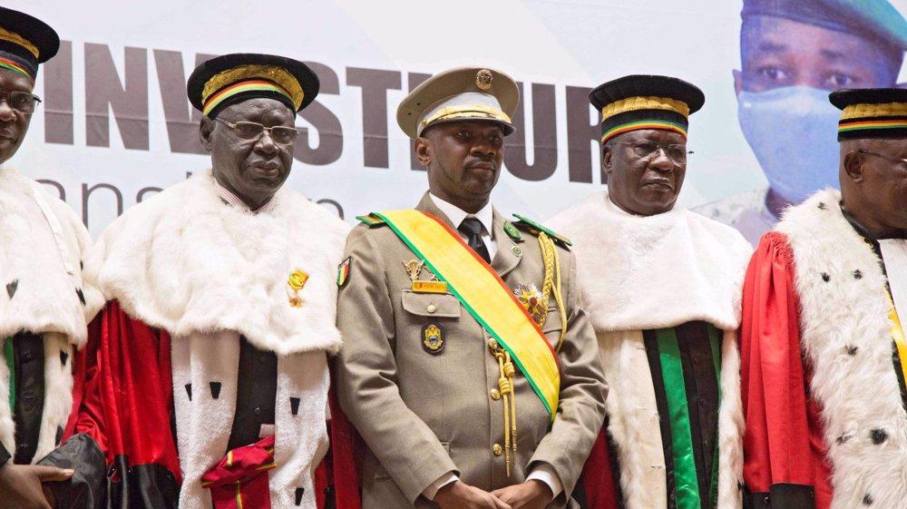 Mali's interim president attacked