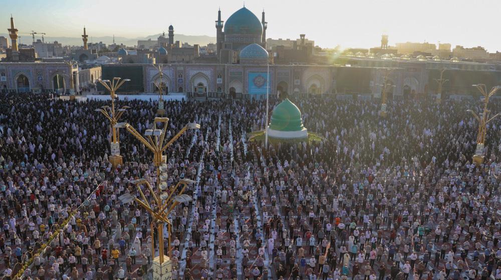 Iranians hold Eid al-Adha prayers under COVID safety protocols