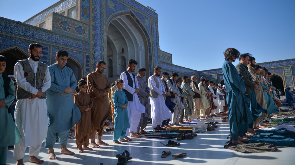 Afghanistan spends calm day as Taliban in 'defense status' during Eid al-Adha