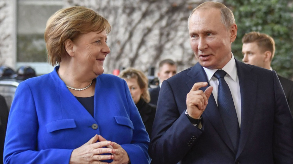 Russia, Germany 'satisfied' as Nord Stream-2 pipeline nears completion