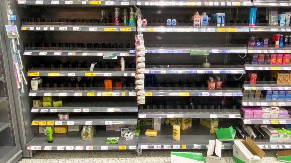 Food supply chains 'on edge of failing' as 'pingdemic' bites
