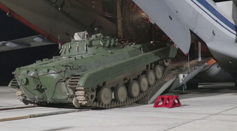 Russia deploys military machinery to base close to Afghan border