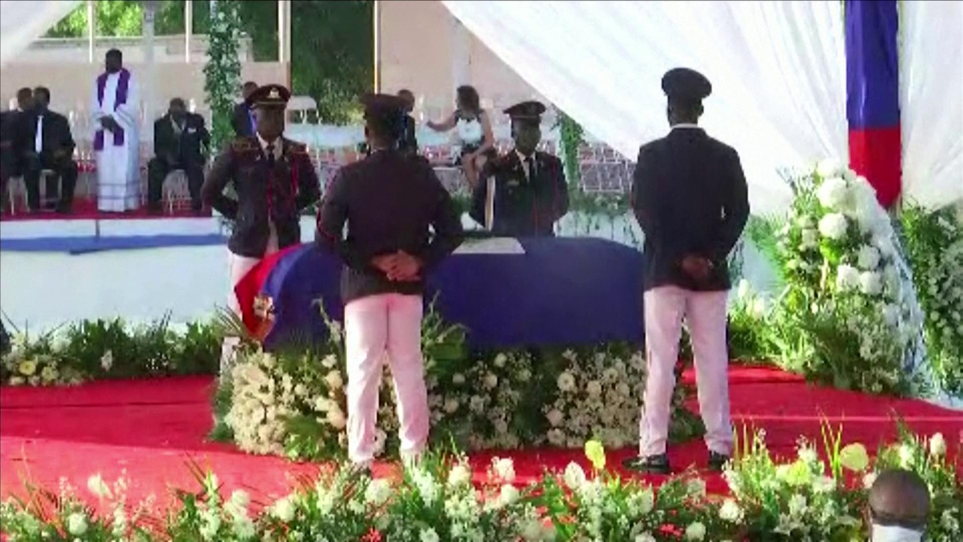 Haiti holds funeral for assassinated president