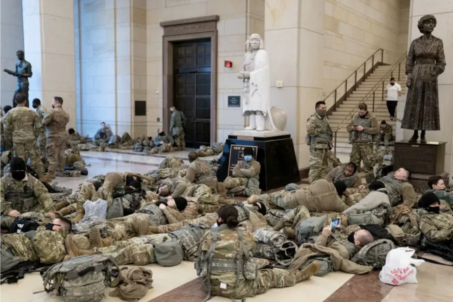 With no payback over Capital riot costs, US National Guard forced to cancel trainings
