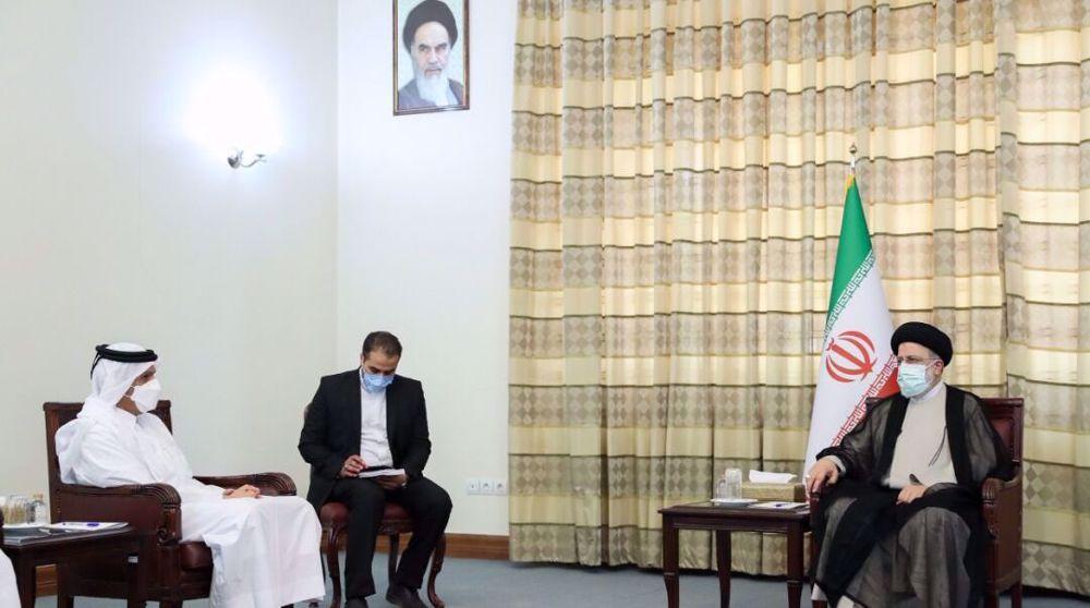 Raeisi to Qatar's FM: Iran trustworthy partner, wishes well for neighbors