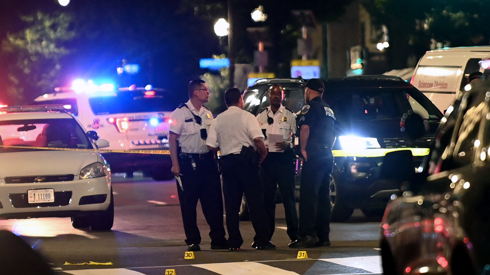 DC police chief slams 'dysfunctional' US justice system, media after another shooting