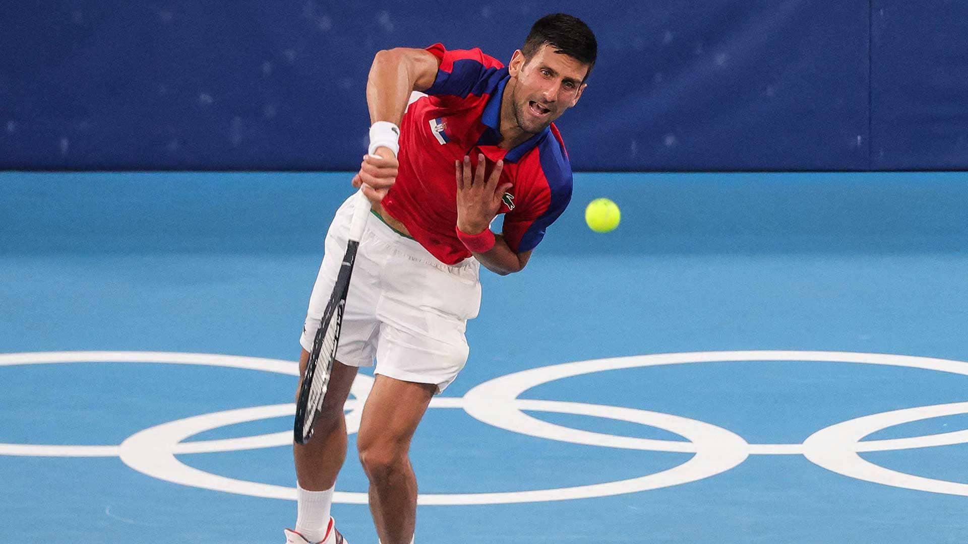 Tokyo Olympics: Djokovic tops Lennard Struff in straight sets