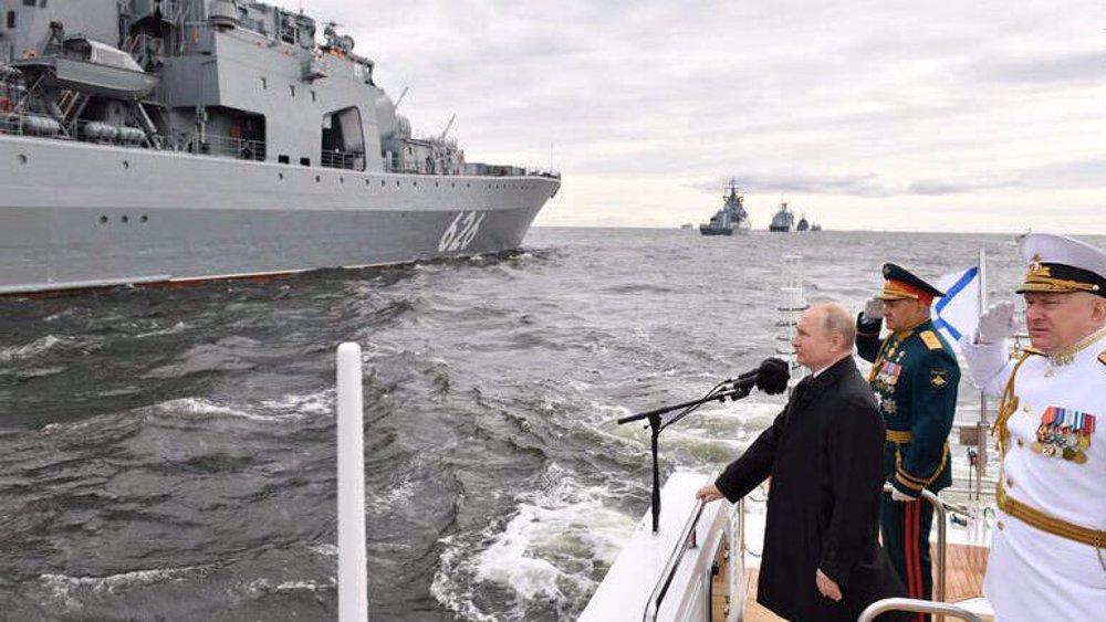 Arme navale russe qui attire l'Iran?