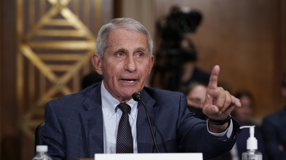 Fauci says US going in 'wrong direction' on COVID as cases rise