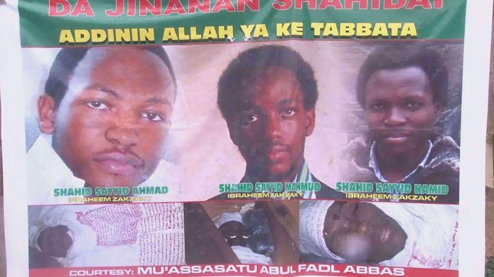 Members of Islamic Movement in Nigeria mark Quds Day massacre