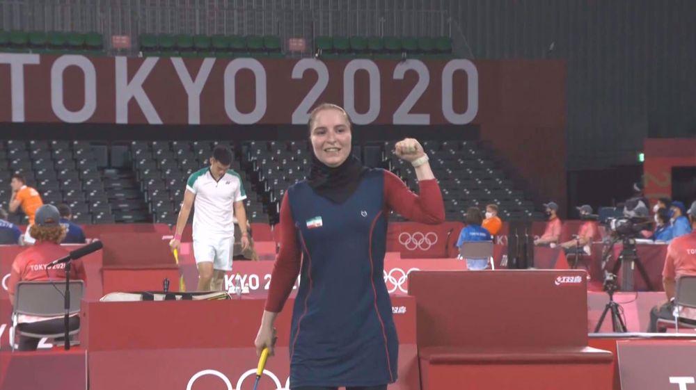 Olympics badminton: Iran's Aqaei wins Group G opener