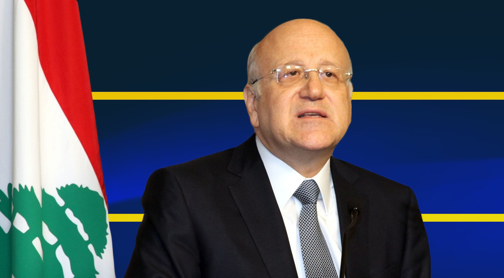 Lebanon names 3rd PM since August 2020