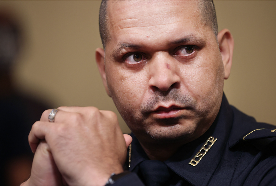 US Capitol Police officer slams Trump's 'monstrosity'