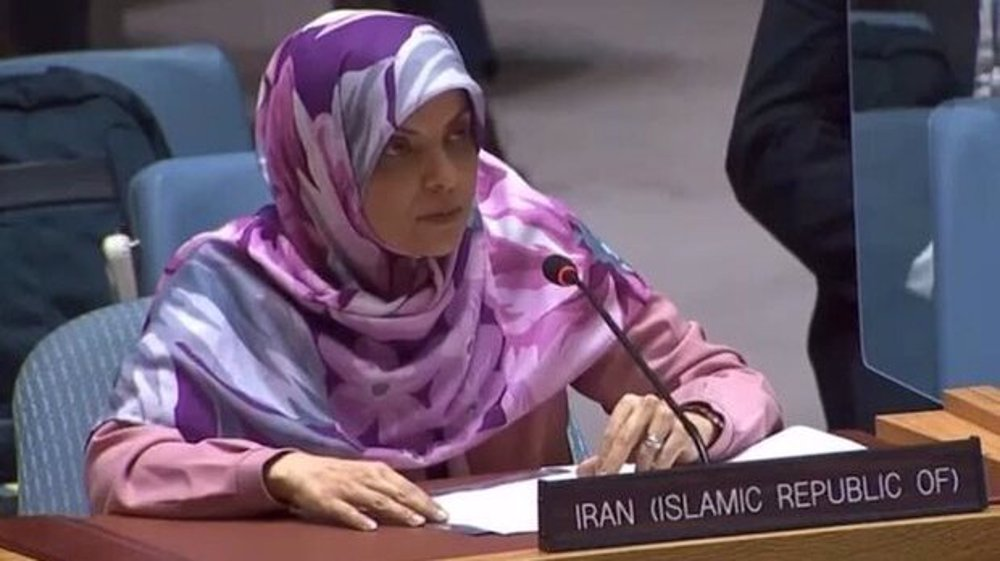 Iran slams Security Council's 'inexcusable inaction' against Israeli crimes