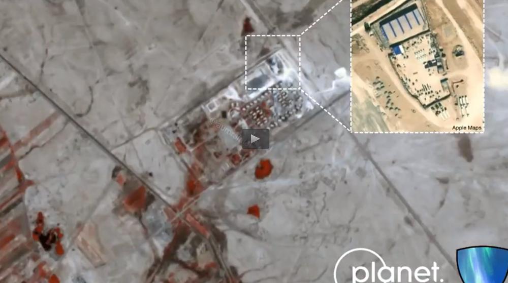 1er essaim de drones a frappé Israël!