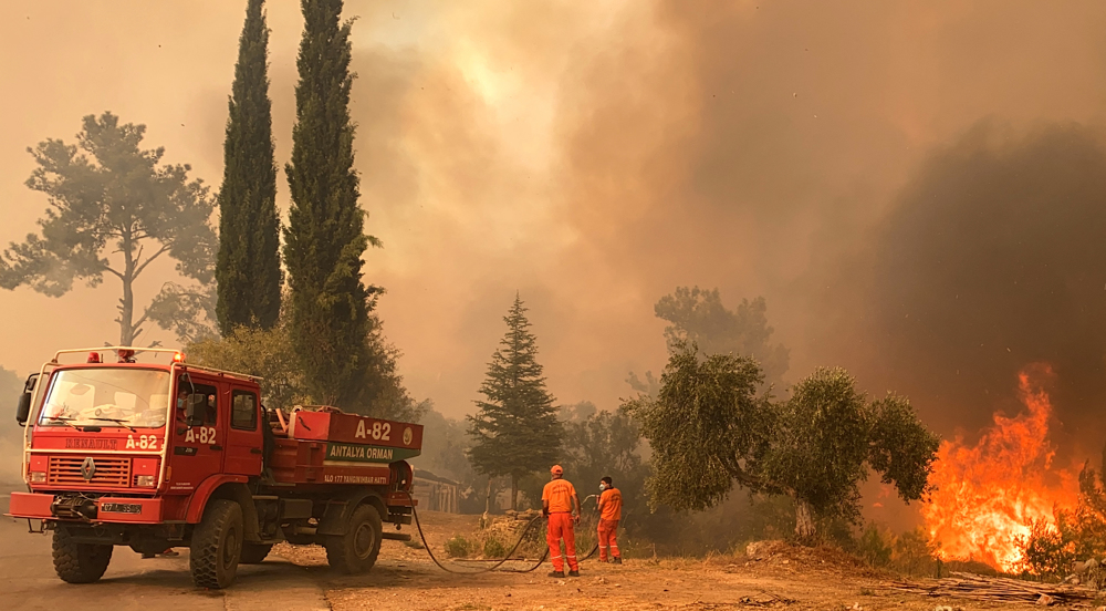 Iran says ready to help Turkey combat massive forest fires