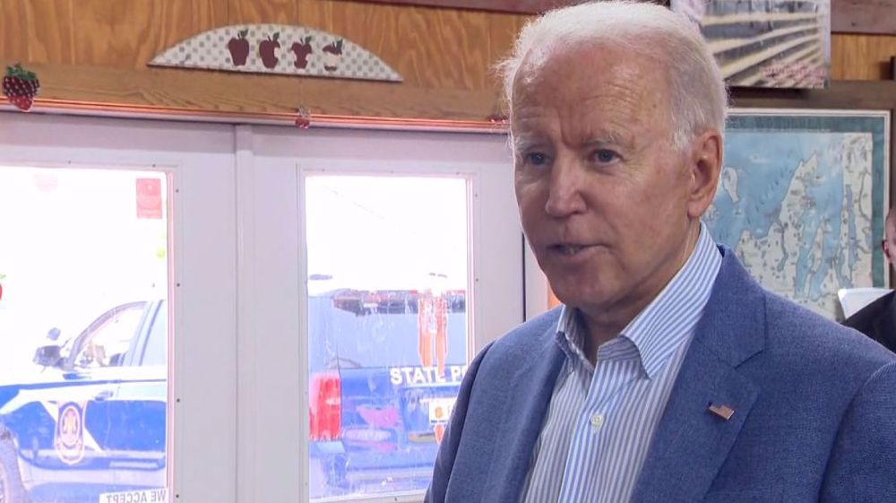 Biden: 'Initial thinking' is Russia not behind latest ransomware attack